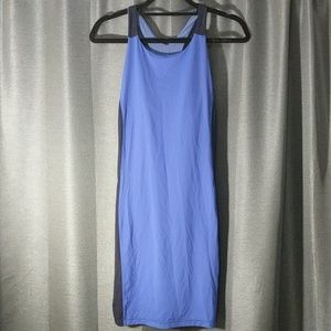 Blue Spandex athleta dress